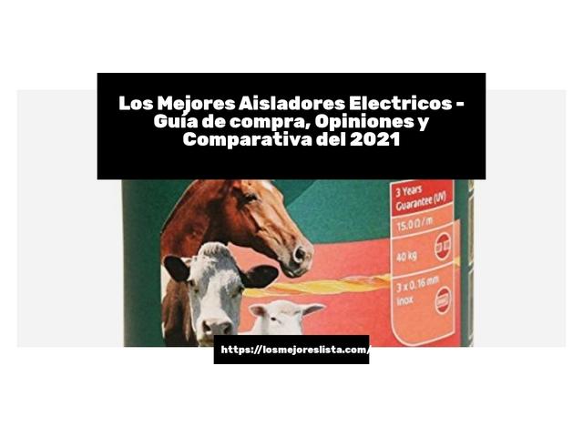 Los Mejores Aisladores Electricos – Guía de compra, Opiniones y Comparativa del 2021 (España)