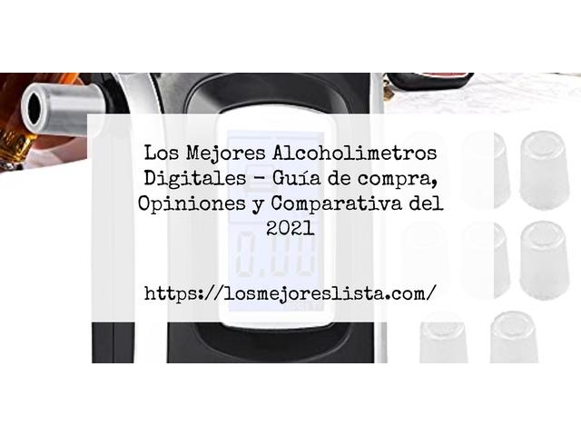 Los Mejores Alcoholimetros Digitales – Guía de compra, Opiniones y Comparativa del 2021 (España)