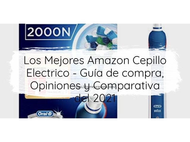 Los Mejores Amazon Cepillo Electrico – Guía de compra, Opiniones y Comparativa del 2021 (España)