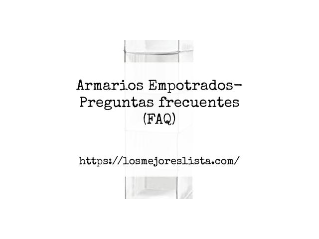 Los Mejores Armarios Empotrados – Guía de compra, Opiniones y Comparativa del 2021 (España)
