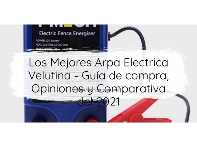 Los Mejores Arpa Electrica Velutina – Guía de compra, Opiniones y Comparativa del 2021 (España)