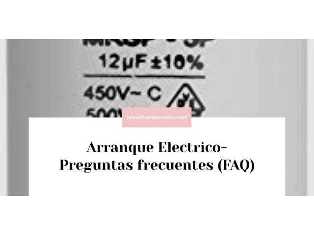 Los Mejores Arranque Electrico – Guía de compra, Opiniones y Comparativa del 2021 (España)