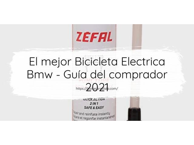 Los Mejores Bicicleta Electrica Bmw – Guía de compra, Opiniones y Comparativa del 2021 (España)
