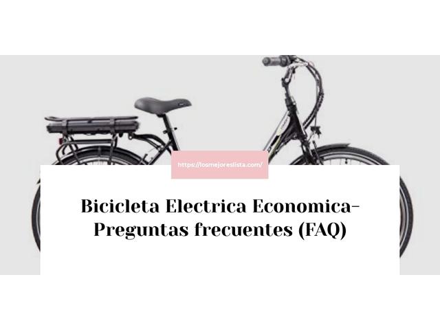 Los Mejores Bicicleta Electrica Economica – Guía de compra, Opiniones y Comparativa del 2021 (España)