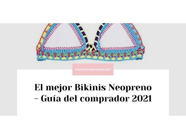 Los Mejores Bikinis Neopreno – Guía de compra, Opiniones y Comparativa del 2021 (España)