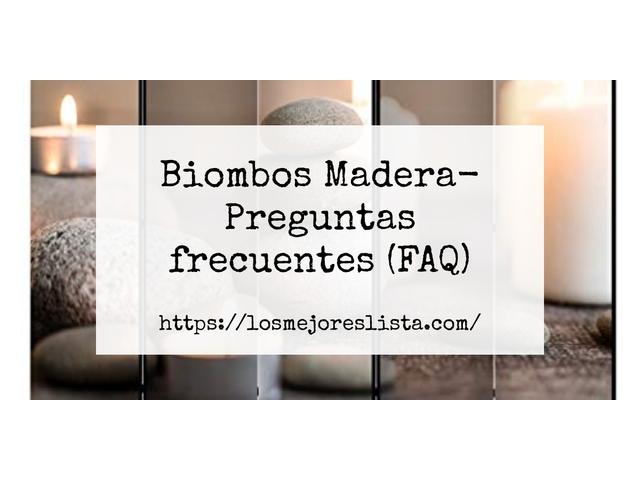 Los Mejores Biombos Madera – Guía de compra, Opiniones y Comparativa del 2021 (España)