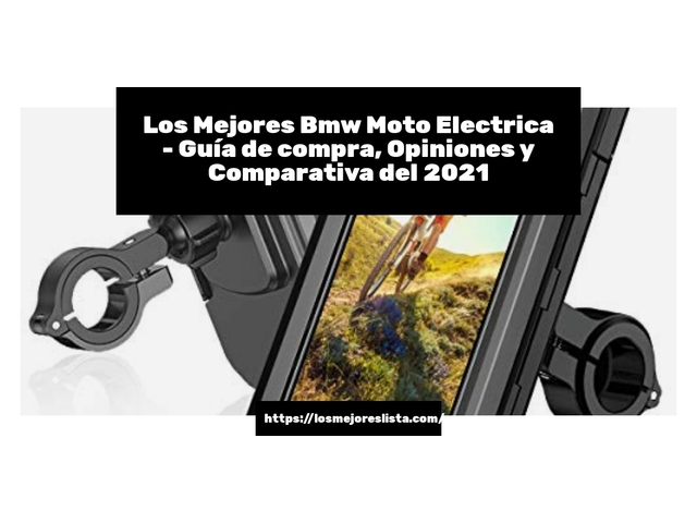Los Mejores Bmw Moto Electrica – Guía de compra, Opiniones y Comparativa del 2021 (España)