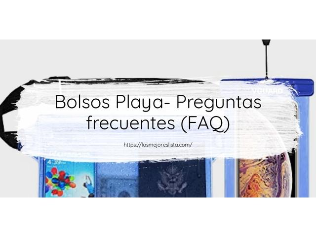Los Mejores Bolsos Playa – Guía de compra, Opiniones y Comparativa del 2021 (España)