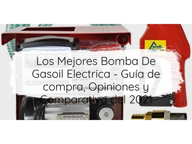 Los Mejores Bomba De Gasoil Electrica – Guía de compra, Opiniones y Comparativa del 2021 (España)