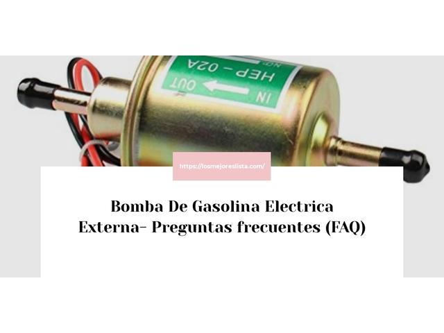 Los Mejores Bomba De Gasolina Electrica Externa – Guía de compra, Opiniones y Comparativa del 2021 (España)