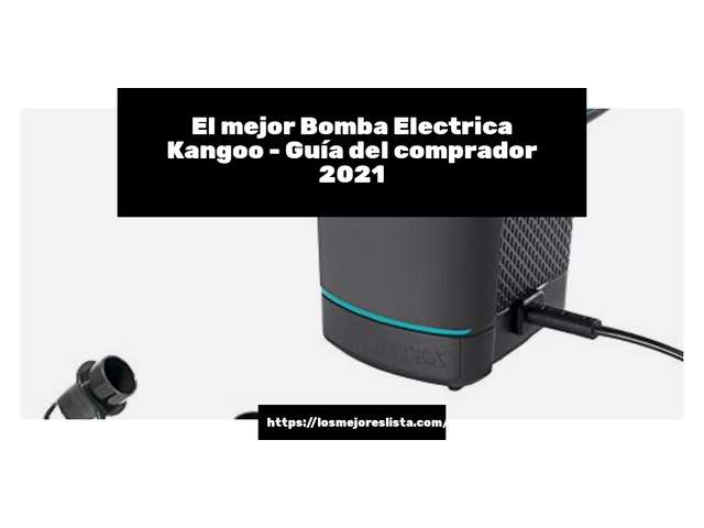 Los Mejores Bomba Electrica Kangoo – Guía de compra, Opiniones y Comparativa del 2021 (España)