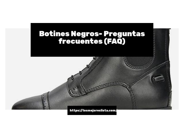 Los Mejores Botines Negros – Guía de compra, Opiniones y Comparativa del 2021 (España)