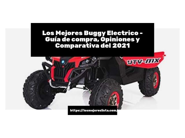 Los Mejores Buggy Electrico – Guía de compra, Opiniones y Comparativa del 2021 (España)