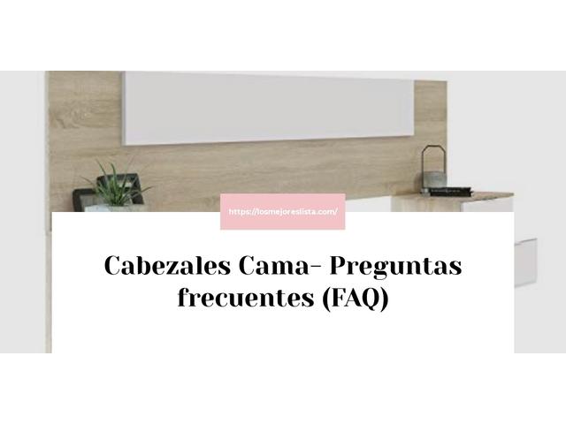 Los Mejores Cabezales Cama – Guía de compra, Opiniones y Comparativa del 2021 (España)