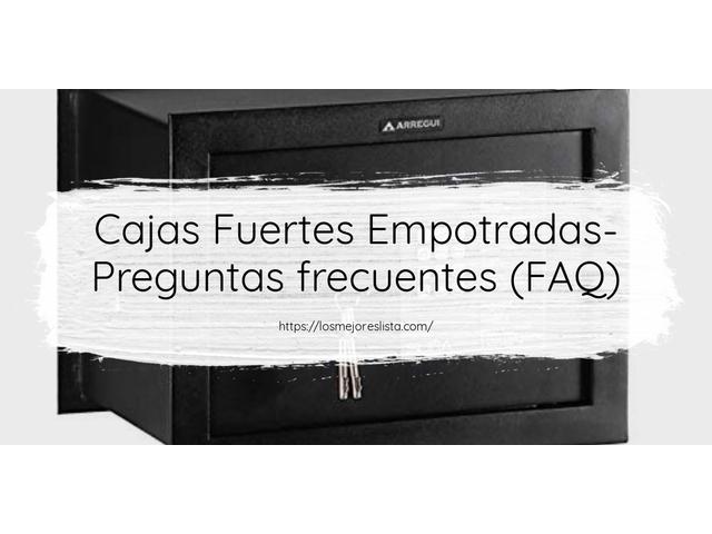 Los Mejores Cajas Fuertes Empotradas – Guía de compra, Opiniones y Comparativa del 2021 (España)