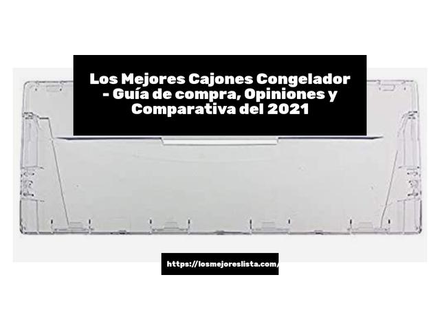 Los Mejores Cajones Congelador – Guía de compra, Opiniones y Comparativa del 2021 (España)
