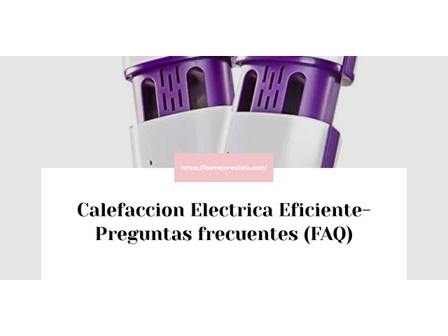 Los Mejores Calefaccion Electrica Eficiente – Guía de compra, Opiniones y Comparativa del 2021 (España)