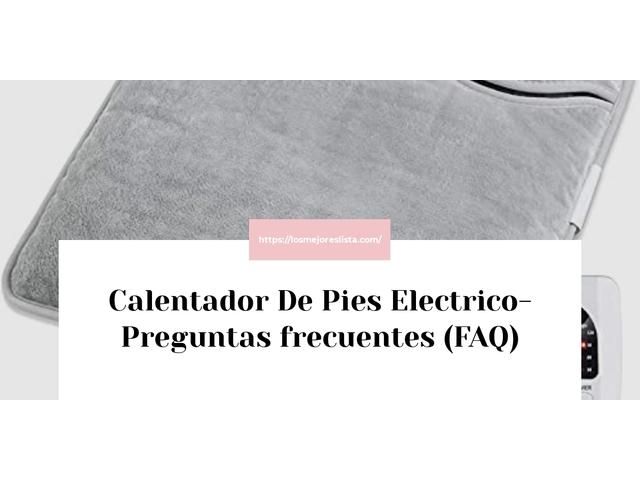 Los Mejores Calentador De Pies Electrico – Guía de compra, Opiniones y Comparativa del 2021 (España)