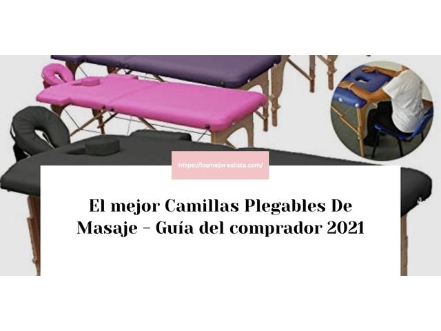 Los Mejores Camillas Plegables De Masaje – Guía de compra, Opiniones y Comparativa del 2021 (España)