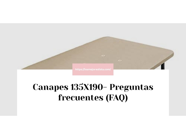 Los Mejores Canapes 135X190 – Guía de compra, Opiniones y Comparativa del 2021 (España)