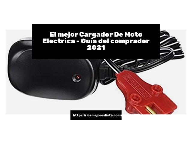 Los Mejores Cargador De Moto Electrica – Guía de compra, Opiniones y Comparativa del 2021 (España)
