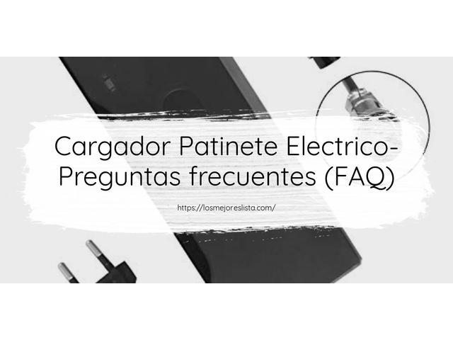 Los Mejores Cargador Patinete Electrico – Guía de compra, Opiniones y Comparativa del 2021 (España)