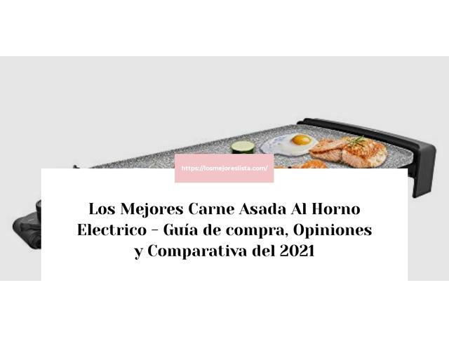 Los Mejores Carne Asada Al Horno Electrico – Guía de compra, Opiniones y Comparativa del 2021 (España)