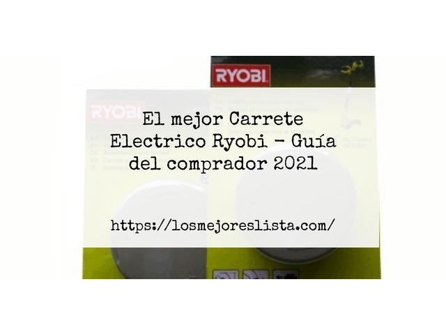 Los Mejores Carrete Electrico Ryobi – Guía de compra, Opiniones y Comparativa del 2021 (España)