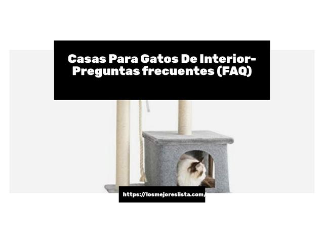 Los Mejores Casas Para Gatos De Interior – Guía de compra, Opiniones y Comparativa del 2021 (España)
