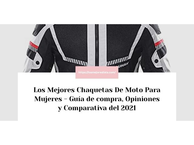 Los Mejores Chaquetas De Moto Para Mujeres – Guía de compra, Opiniones y Comparativa del 2021 (España)