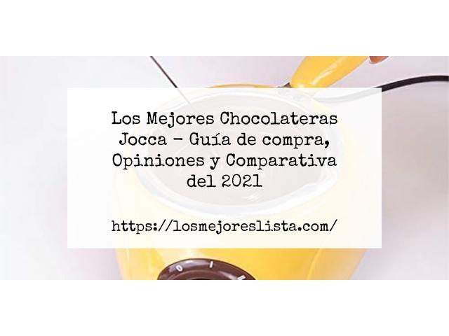 Los Mejores Chocolateras Jocca – Guía de compra, Opiniones y Comparativa del 2021 (España)