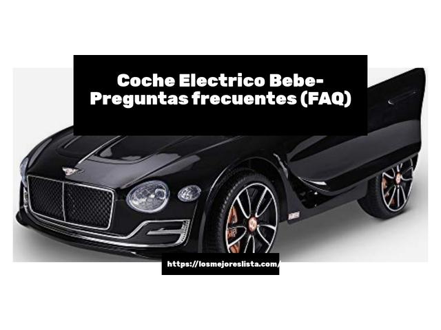 Los Mejores Coche Electrico Bebe – Guía de compra, Opiniones y Comparativa del 2021 (España)