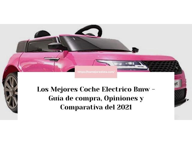 Los Mejores Coche Electrico Bmw – Guía de compra, Opiniones y Comparativa del 2021 (España)