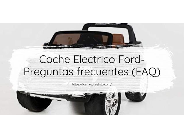 Los Mejores Coche Electrico Ford – Guía de compra, Opiniones y Comparativa del 2021 (España)