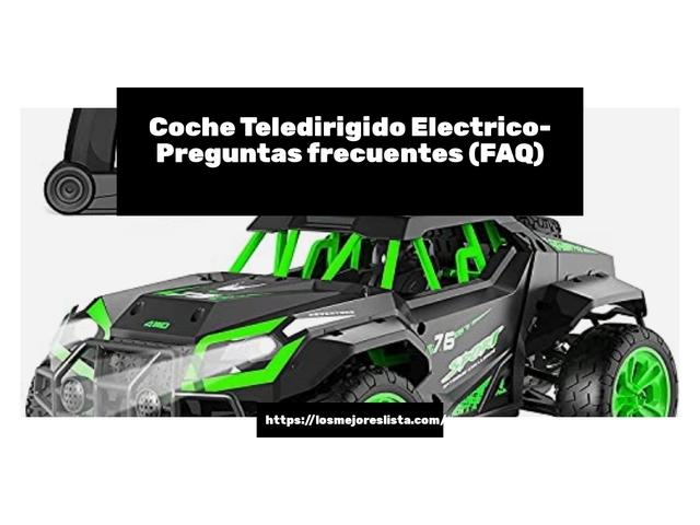 Los Mejores Coche Teledirigido Electrico – Guía de compra, Opiniones y Comparativa del 2021 (España)