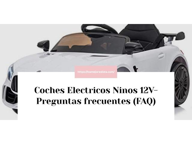 Los Mejores Coches Electricos Ninos 12V – Guía de compra, Opiniones y Comparativa del 2021 (España)