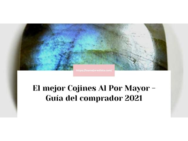 Los Mejores Cojines Al Por Mayor – Guía de compra, Opiniones y Comparativa del 2021 (España)