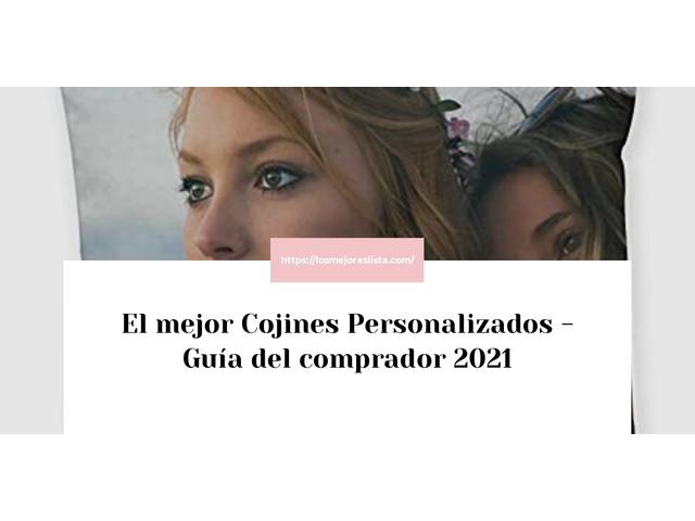Los Mejores Cojines Personalizados – Guía de compra, Opiniones y Comparativa del 2021 (España)