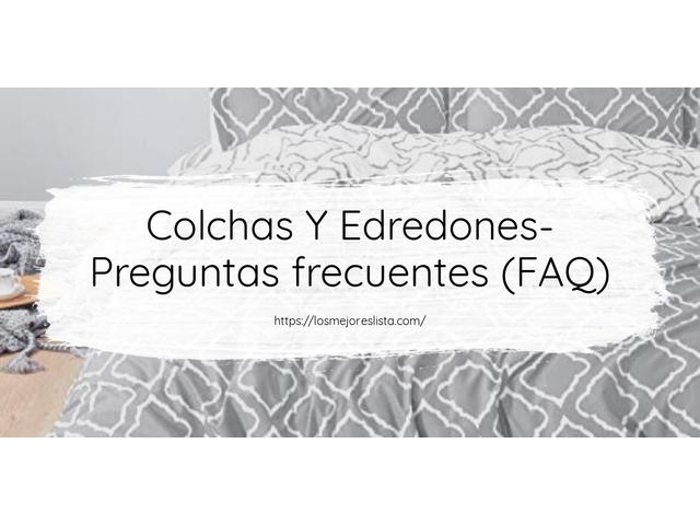 Los Mejores Colchas Y Edredones – Guía de compra, Opiniones y Comparativa del 2021 (España)