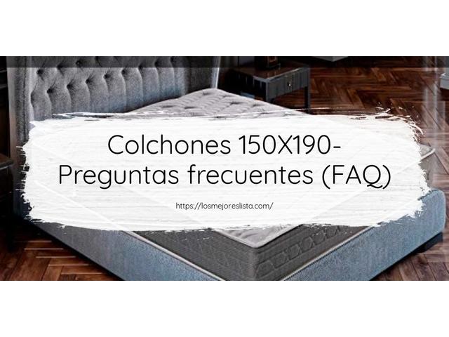 Los Mejores Colchones 150X190 – Guía de compra, Opiniones y Comparativa del 2021 (España)