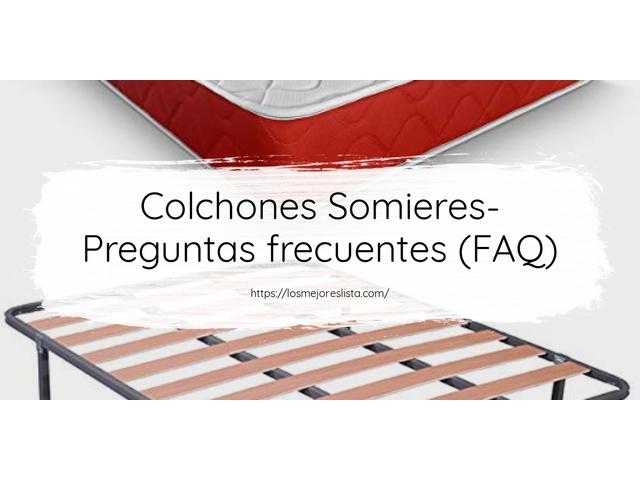 Los Mejores Colchones Somieres – Guía de compra, Opiniones y Comparativa del 2021 (España)