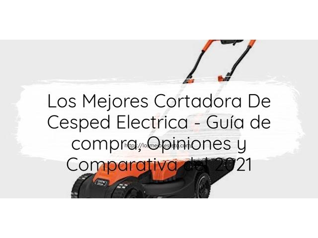 Los Mejores Cortadora De Cesped Electrica – Guía de compra, Opiniones y Comparativa del 2021 (España)