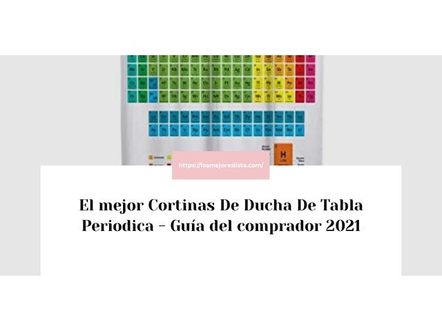 Los Mejores Cortinas De Ducha De Tabla Periodica – Guía de compra, Opiniones y Comparativa del 2021 (España)