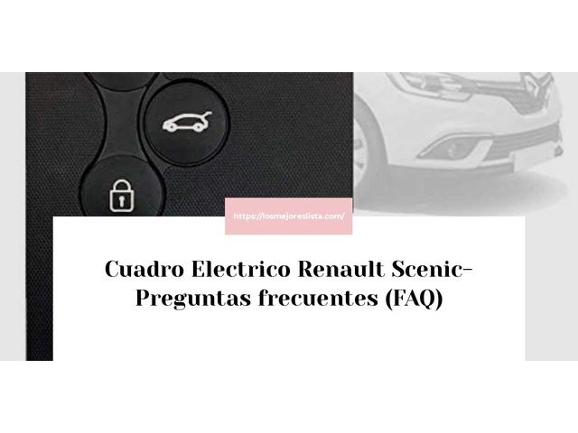 Los Mejores Cuadro Electrico Renault Scenic – Guía de compra, Opiniones y Comparativa del 2021 (España)