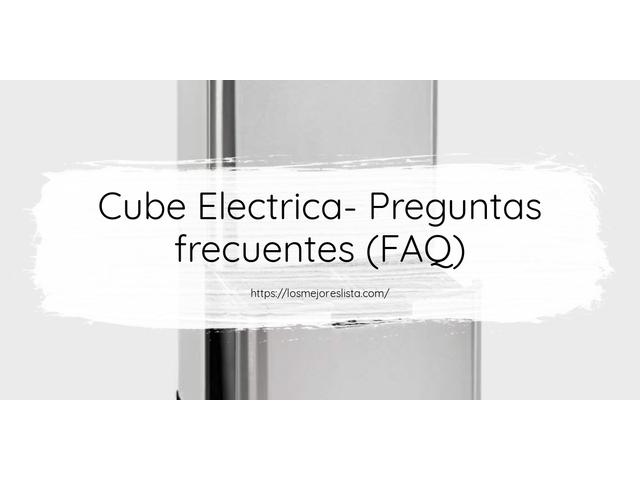 Los Mejores Cube Electrica – Guía de compra, Opiniones y Comparativa del 2021 (España)