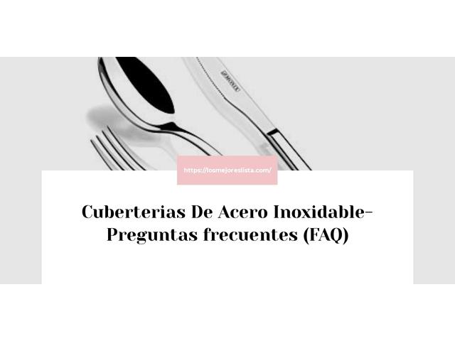 Los Mejores Cuberterias De Acero Inoxidable – Guía de compra, Opiniones y Comparativa del 2021 (España)