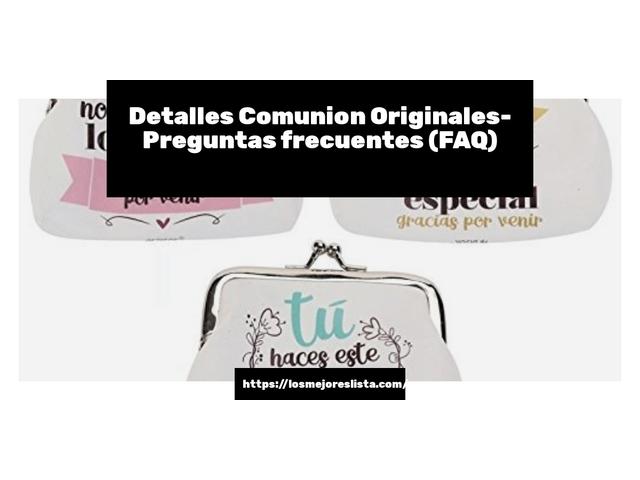 Los Mejores Detalles Comunion Originales – Guía de compra, Opiniones y Comparativa del 2021 (España)