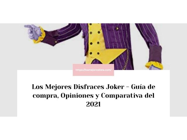 Los Mejores Disfraces Joker – Guía de compra, Opiniones y Comparativa del 2021 (España)