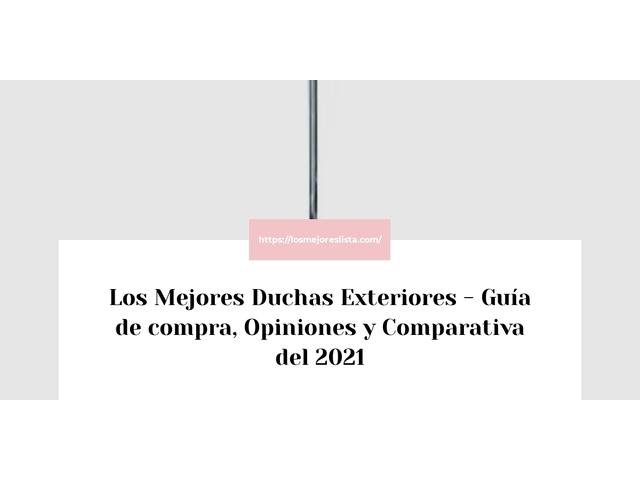 Los Mejores Duchas Exteriores – Guía de compra, Opiniones y Comparativa del 2021 (España)
