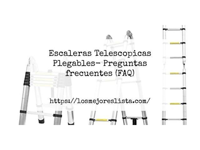 Los Mejores Escaleras Telescopicas Plegables – Guía de compra, Opiniones y Comparativa del 2021 (España)